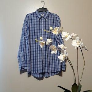 LACOSTE Plaid Button down shirt